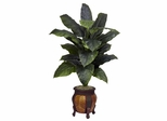 Giant Spathyfillum with Decorative Vase Silk Plant - Nearly Natural - 6695