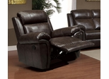 Gideon Transitional Styled Glider Recliner - 601043