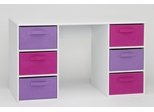 Girl's Student Desk in White - 4D Concepts - 12434