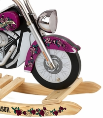 Girls' Harley Davidson Roaring Softail Rocker - KidKraft Furniture - 10012