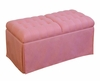 Girls Storage Bench in Pink - 4D Concepts - 12409