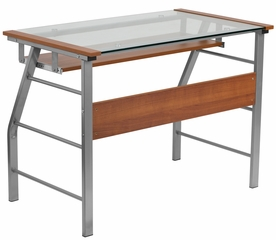 Glass Computer Desk - NAN-JN-2940-GG