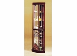 Glass Corner Cabinet - Martha - 02347