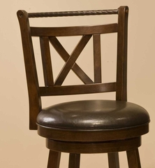 Glenmont Swivel Bar Stool - Hillsdale Furniture - 4512-830