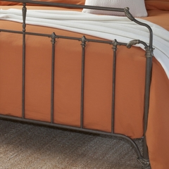 Glenrock King Size Bed in Antique Brown - Hillsdale Furniture - 1549BKR