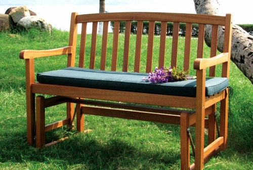 Glider Bench in Natural - Merry Products - MPG-GDB01