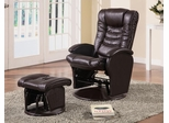 Glider Recliner Chair with Matching Ottom