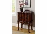 Gold Flower Cabinet in Cherry - 950207