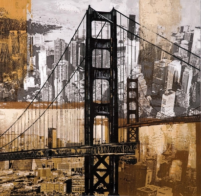 Golden Gate City Wall Art - 960545