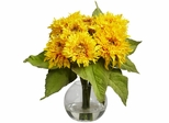 Golden Sunflower Arrangement - Nearly Natural - 4906