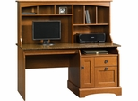 Graham Hill Computer Desk with Hutch Autumn Maple - Sauder Furniture - 408951