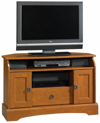 Graham Hill Corner TV Stand Autumn Maple - Sauder Furniture - 409024