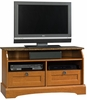 Graham Hill Panel TV Stand Autumn Maple - Sauder Furniture - 409025
