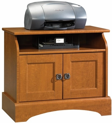 Graham Hill Utility Stand Autumn Maple - Sauder Furniture - 407803