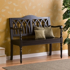 Granbury Black Bench - Holly and Martin