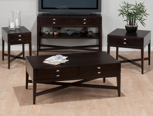 Granby Espresso 4PC Occasional Table Set - 934-1