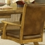 Grand Bay 5-Piece Rectangle Dining Set with Caster Chairs in Medium Oak - Hillsdale Furniture - 4337DTBRTCC
