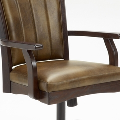 Grand Bay Caster Dining Chair in Cherry - Hillsdale Furniture - 4379-800