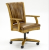 Grand Bay Caster Dining Chair in Medium Oak - Hillsdale Furniture - 4337-800