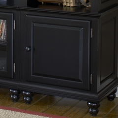 Grand Bay Small Entertainment Wall Unit in Black - Hillsdale Furniture - 6123SEC