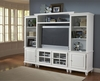 Grand Bay Small Entertainment Wall Unit in White - Hillsdale Furniture - 6122SEC