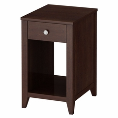 Grand Expressions End Table in Warm Molasses - Kathy Ireland