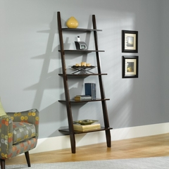 "Grand Lake 72"" Ladder Bookcase Espresso - Sauder Furniture - 408922"