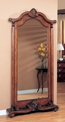 Grand Warm Brown Floor Mirror - 900468