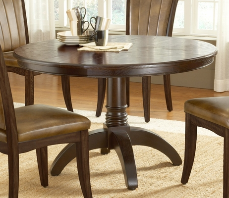 Grandbay Round Dining Table in Cherry - Hillsdale Furniture - 4379DTB