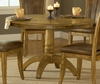 Grandbay Round Dining Table in Medium Oak - Hillsdale Furniture - 4337DTB