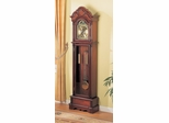 Grandfather Clock in Dark Cherry - Coaster