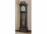 Grandfather Clock in Deep Brown - Coaster