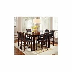 Granita 7Pc Square Dining Set - American Hertiage - AH-713845
