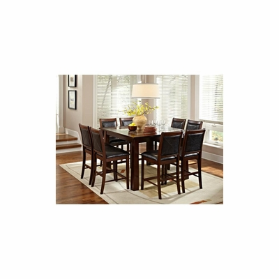 Granita 9Pc Square Dining Set - American Hertiage - AH-713846