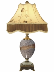 Granite Stone Table Lamp - Dale Tiffany - PG80332