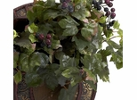 Grape Leaf and Chest Silk Plant - Nearly Natural - 6682