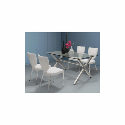Graphite 5pc Dining Table Set - Zuo