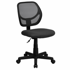 Gray Mesh Computer Chair - WA-3074-GY-GG