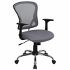 Gray Mesh Executive Office Chair - H-8369F-GY-GG