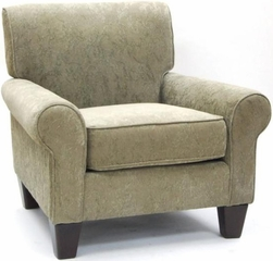 Green Oxford Club Arm Chair - Carolina Chair - SH2554-26-2193-10