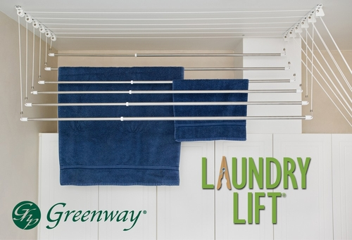 Greenway Indoor 6-Rod Laundry Lift - Greenway Home Products - GCL6LL