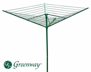 Greenway Outdoor Large Fold Away Clothesline - Greenway Home Products - GCL4FA