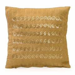 Gretchen Gold Sequin Pillow - IMAX - 42117