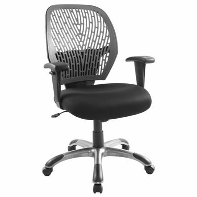 Grey/Black Cyber Office Chair - LumiSource - OFC-CYBER-GY-BK