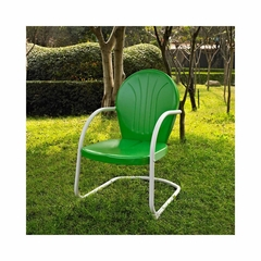 Griffith Metal Chair in Grasshopper Green - CROSLEY-CO1001A-GR