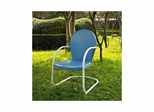 Griffith Metal Chair in Sky Blue - CROSLEY-CO1001A-BL