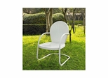 Griffith Metal Chair in White - CROSLEY-CO1001A-WH