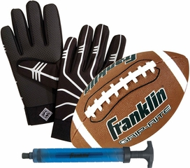 GRIP RITE Jr. Ball and Receiver's Glove Set - Franklin Sports