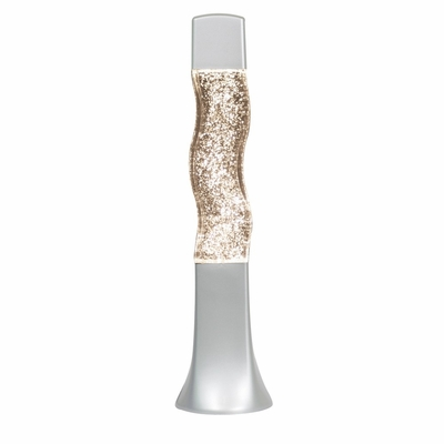 Groovy Clear Glitter Lamp - LumiSource - LPN-GVY-GLTR-CL