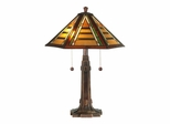 Grueby Tiffany Table Lamp - Dale Tiffany